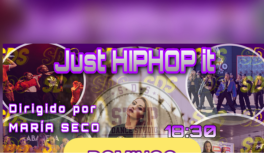 "STEP DANCE STUDIO - ""JUST HIPHOP IT"""